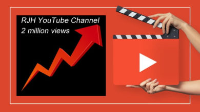 Photo of YouTube Channel two million views